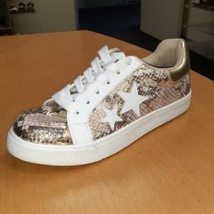Snake print Lace up sneaker ARRIVES SOON